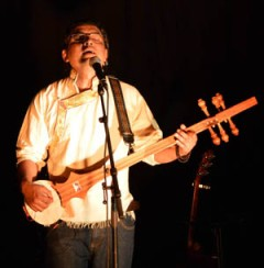 Lobsang Chonzor en concert