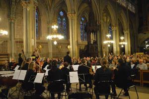 eglise et orchestre